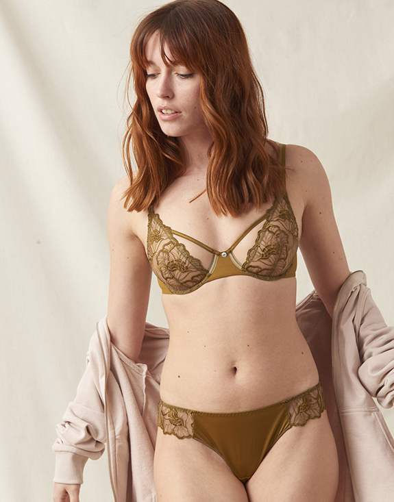 Maison Lejaby Flora Collection for A/W 21 as featured on Lingerie Briefs