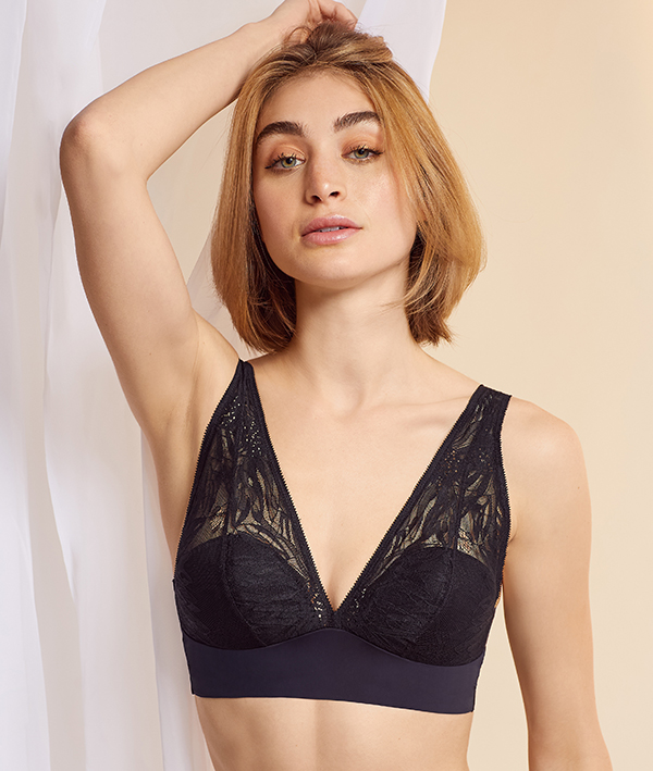 On Gossamer Launches the Sleek & Lace Built Up Bralette for F/W21
