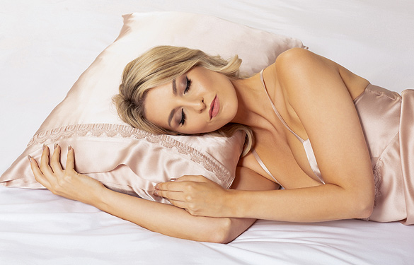 Emma Harris Anais Collection SS22 Pillowcase as featured on Lingerie Briefs