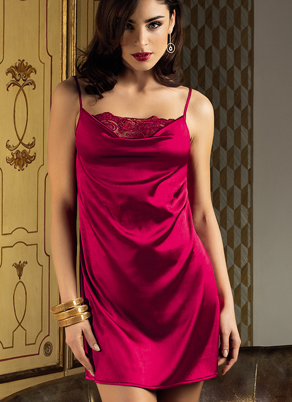 Lise Charmel Tellement Glamour Collection in Red as feature on Lingerie Briefs