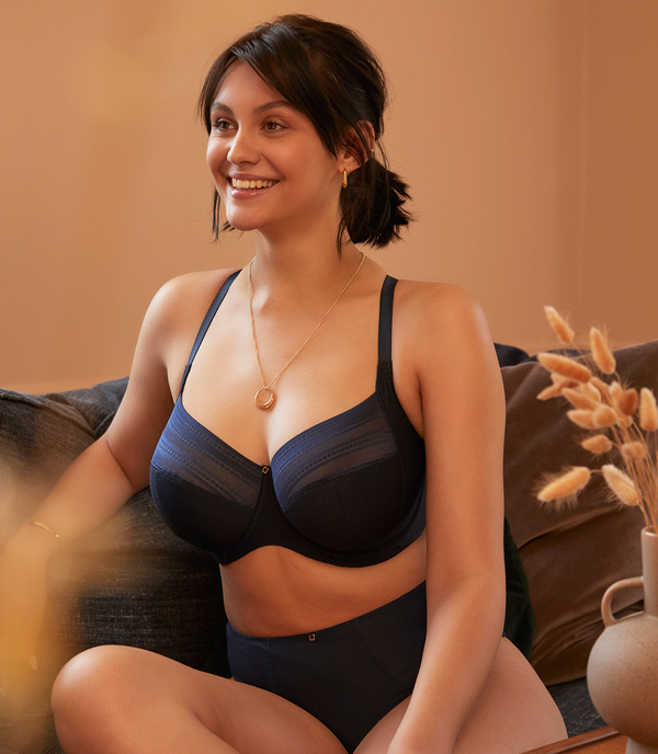Panache launches the sustainable Serene collection AW21 featured on Lingerie Briefs