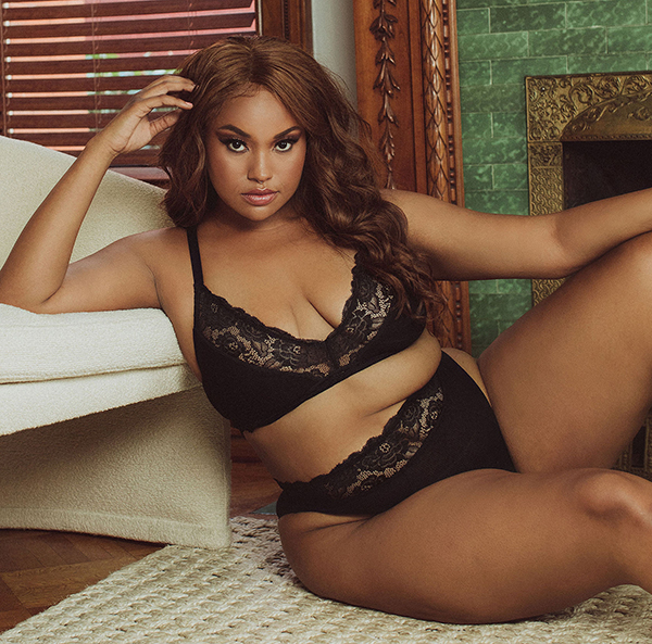 Kilo Brava Rib and Lace collection as featured on Lingerie Briefs
