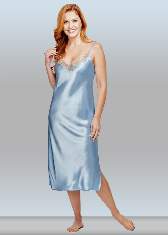 Shadowline Silky Ballet Nightgown. Featured on Lingerie Briefs