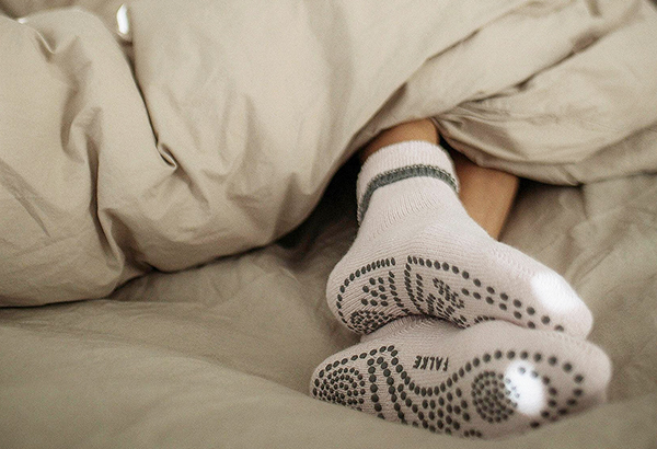 Falke Cuddle Pad Slipper Socks with Merino Wool and silicone grips as featured on Lingerie Briefs