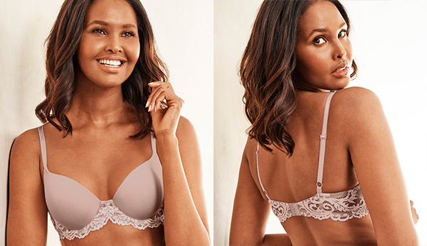 Wacoal's new INSTANT ICON T-shirt Bra featured on Lingerie Briefs