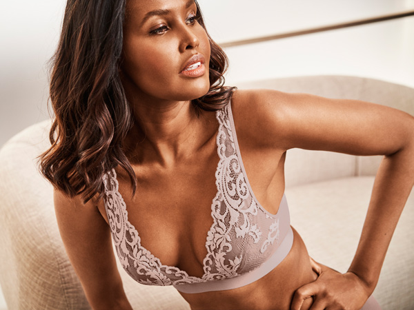 Wacoal's new INSTANT ICON Bralette featured on Lingerie Briefs