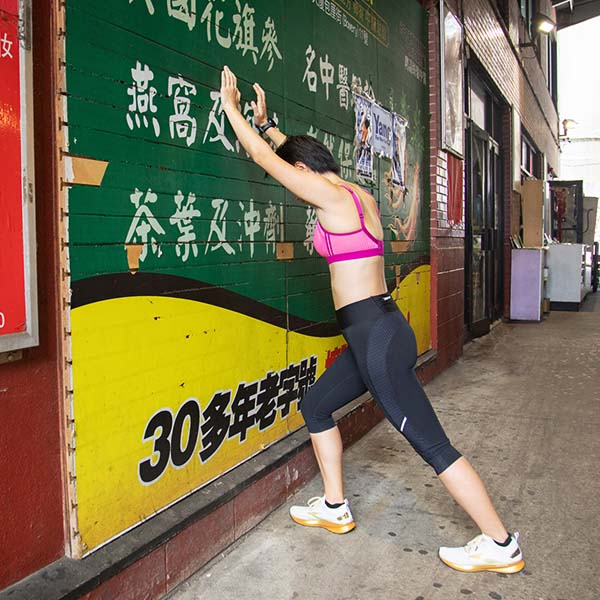 Running the Boston Marathon in Support of the Asian Community as featured on Lingerie Briefs