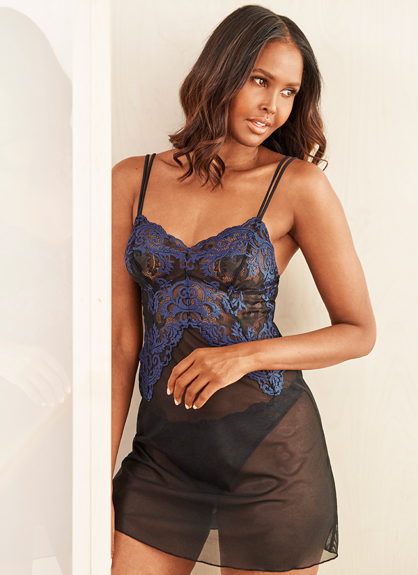 Wacoal's new INSTANT ICON Chemise featured on Lingerie Briefs