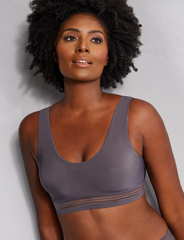Le Mystere's Sexy, Lightweight Arrival ~ Second Skin Bralette featured on Lingerie Briefs